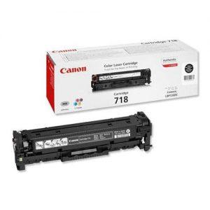 Canon 718 Toner Cartridge Page Life 3400pp Black Ref 2662B005 [Pack 2] | 164071