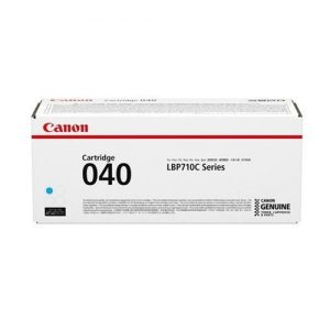 Canon 040 Laser Toner Cartridge Page Life 5400pp Cyan Ref 0458C001 | 165336