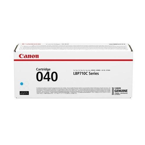 Canon 040 Laser Toner Cartridge Page Life 5400pp Cyan Ref 0458C001 | 165336