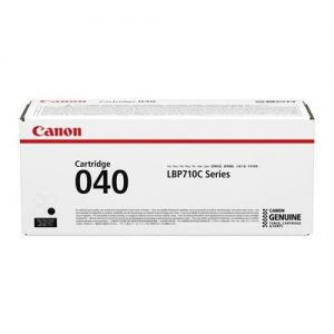 Canon 040 Laser Toner Cartridge Page Life 6300pp Black Ref 0460C001 | 167671