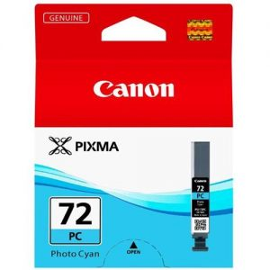 Canon PGI-72 Inkjet Cartridge Page Life 351pp Photo Cyan Ref 6407B001 | 167775