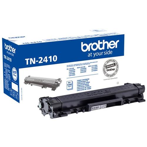 Brother TN2410 Toner Cartridge Page Life 1200pp Black Ref TN2410 | 167836