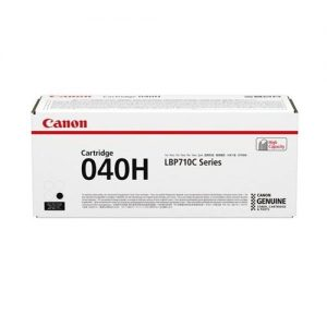 Canon 040H Laser Toner Cartridge High Yield Page Life 12500pp Black Ref 0461C001 | 168748
