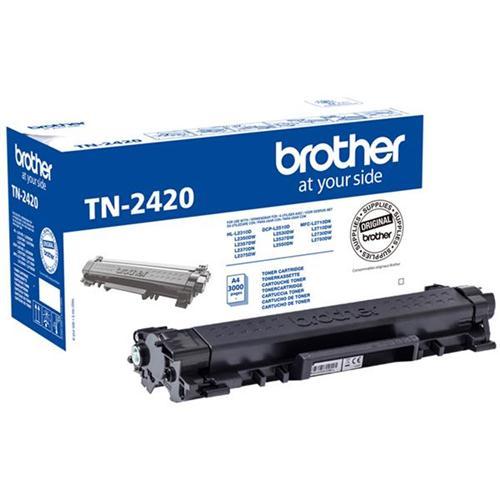 Brother TN2420 Toner Cartridge High Yield Page Life 3000pp Black Ref TN2420 | 168949