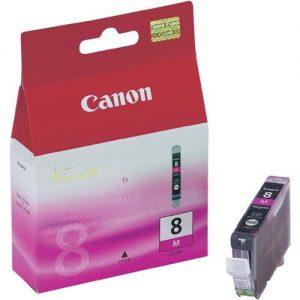 Canon CLI-8M Inkjet Cartridge Magenta Ref 0622B001 | 208540