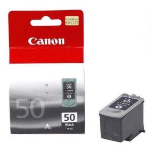 Canon PG-50 Inkjet Cartridge Page Life 510pp Black Ref 0616B001 | 208647