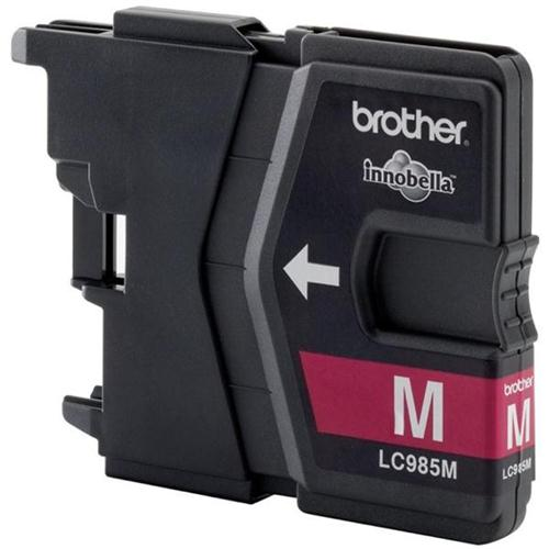 Brother Inkjet Cartridge Page Life 260pp Magenta Ref LC985M | 216186