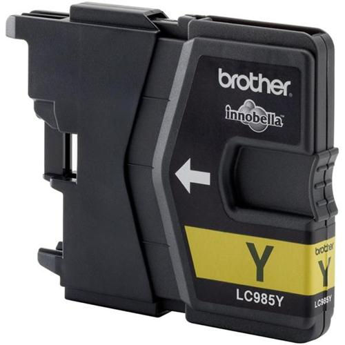Brother Inkjet Cartridge Page Life 260pp Yellow Ref LC985Y | 216194