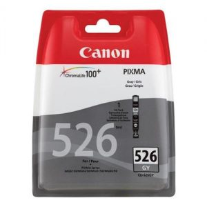 Canon CLI-526GY Inkjet Cartridge Page Life 1515pp Grey Ref 4544B001 | 223918