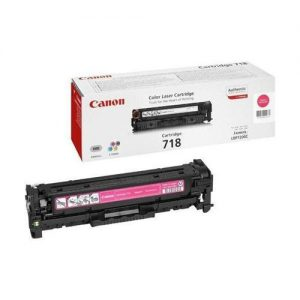 Canon CRG-718M Laser Toner Cartridge Page Life 2900pp Magenta Ref 2660B002 | 226863