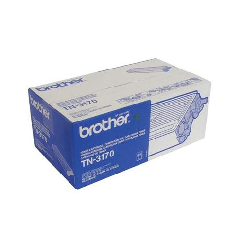 Brother Laser Toner Cartridge Page Life 7000pp Black Ref TN3170 | 246811
