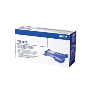 Brother Laser Toner Cartridge Page Life 1200pp Black Ref TN2210 | 256188