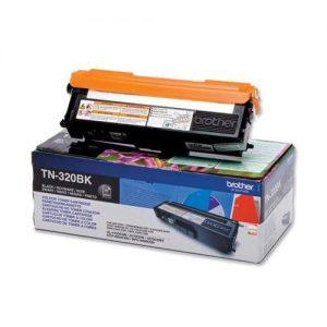 Brother Laser Toner Cartridge Page Life 2500pp Black Ref TN320BK   256228