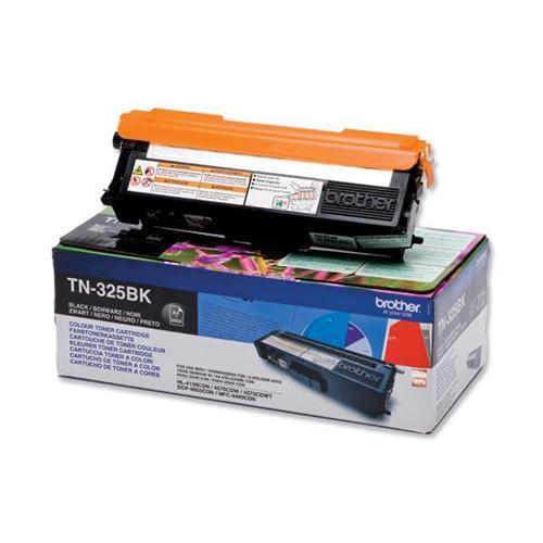Brother Laser Toner Cartridge Page Life 4000pp Black Ref TN325BK   256236