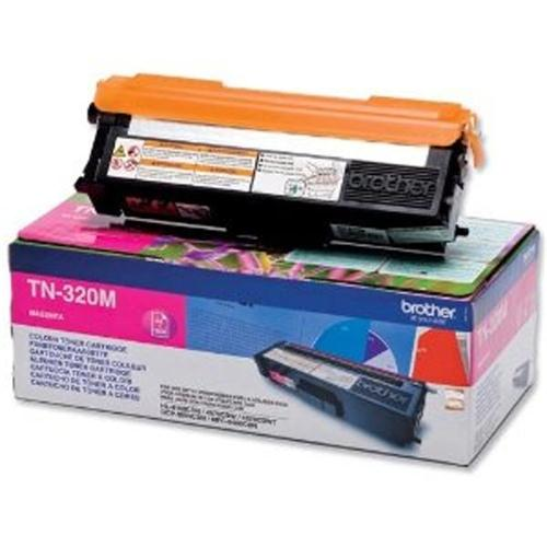 Brother Laser Toner Cartridge Page Life 1500pp Magenta Ref TN320M | 256252