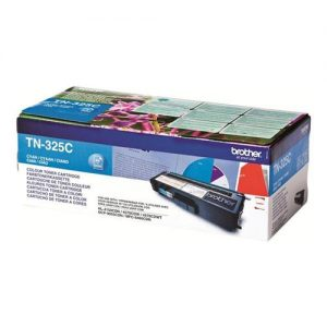 Brother Laser Toner Cartridge Page Life 3500pp Cyan Ref TN325C | 256278