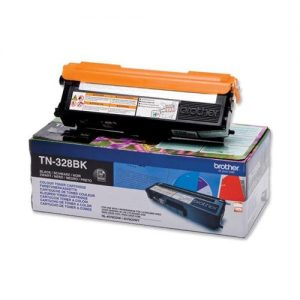 Brother Laser Toner Cartridge Page Life 6000pp Black Ref TN328BK | 259911