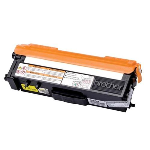 Brother Laser Toner Cartridge Page Life 6000pp Yellow Ref TN328Y | 259944