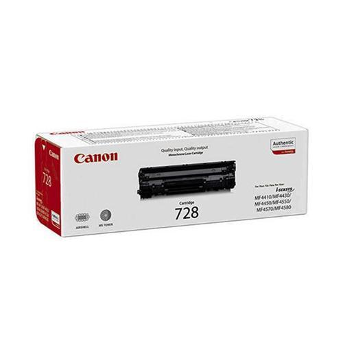 Canon CRG-728 Laser Toner Cartridge Page Life 2100pp Black Ref 3500B002   347351