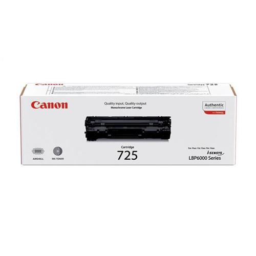 Canon CRG-725 Laser Toner Cartridge Page Life 1600pp Black Ref 3484B002 | 347424