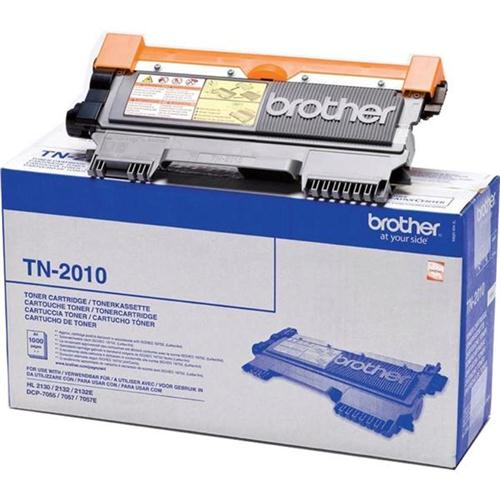 Brother Laser Toner Cartridge Page Life 1000pp Black Ref TN2010 | 363005