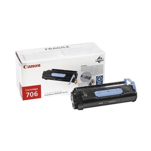 Canon 706 Laser Toner Cartridge Page Life 5000pp Black Ref 0264B002 | 434229