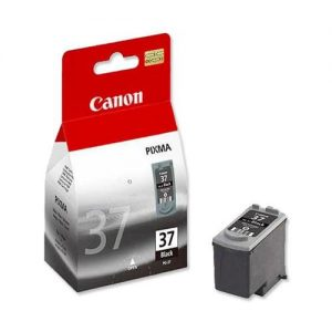 Canon PG-37 Inkjet Cartridge Page Life 220pp Black Ref 2145B001 | 474184