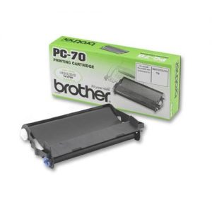 Brother Fax Cassette Black for T74/T76/T84/T86 Ref PC70 | 524911