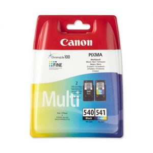 Canon PG-540/CL-541 Inkjet Cartridge Page Life 180pp Black/Colour Ref 5225B006 [Pack 2] | 553411