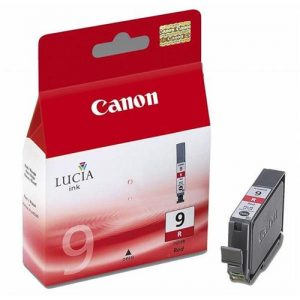 Canon PGI-9R Inkjet Cartridge Page Life 1335pp Red Ref 1040B001 | 592766