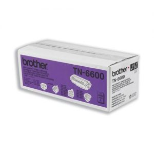Brother Fax Laser Toner Cartridge Page Life 6000pp Black Ref TN6600 | 659297