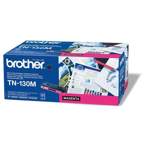 Brother Laser Toner Cartridge Page Life 1500pp Magenta Ref TN130M | 718562