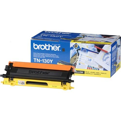 Brother Laser Toner Cartridge Page Life 1500pp Yellow Ref TN130Y | 718570