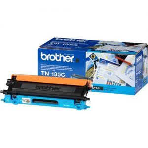 Brother Laser Toner Cartridge Page Life 4000pp Cyan Ref TN135C | 718596