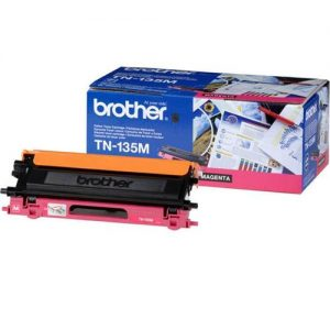 Brother Laser Toner Cartridge Page Life 4000pp Magenta Ref TN135M | 718601