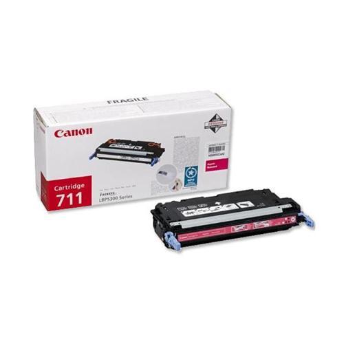 Canon 711M Laser Toner Cartridge Page Life 6000pp Magenta [for LBP-5360] Ref 1658B002   754697