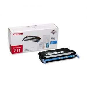 Canon 711C Laser Toner Cartridge Page Life 6000pp Cyan [for LBP-5360] Ref 1659B002 | 754710
