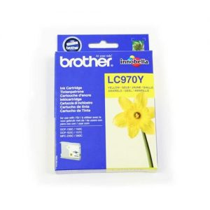 Brother Inkjet Cartridge Page Life 300pp Yellow Ref LC970Y | 780522