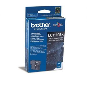 Brother Inkjet Cartridge Page Life 450pp Black Ref LC1100BK | 843658
