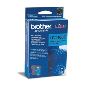 Brother Inkjet Cartridge Page Life 325pp Cyan Ref LC1100C | 843666