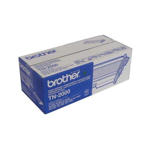 Brother Laser Toner Cartridge Black Ref TN2000 | 854760