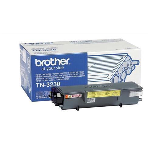 Brother Laser Toner Cartridge Page Life 3000pp Black Ref TN3230 | 872813