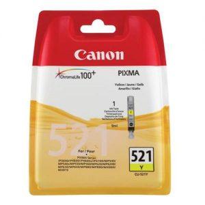Canon CLI-521Y Inkjet Cartridge Yellow Ref 2936B001AA | 875054