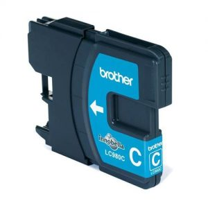 Brother Inkjet Cartridge Page Life 260pp Cyan Ref LC980C | 875135