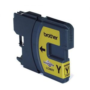 Brother Inkjet Cartridge Page Life 260pp Yellow Ref LC980Y | 875151