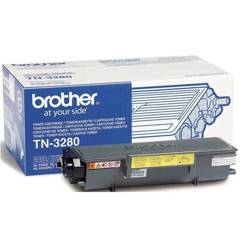 Brother Laser Toner Cartridge High Yield Page Life 8000pp Black Ref TN3280 | 878708