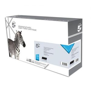 5 Star Office Remanufactured Laser Toner Cartridge 2500pp Black [HP No. 13A Q2613A Alternative] | 917235
