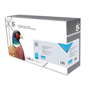 5 Star Office Remanufactured Laser Toner Cartridge 4000pp Cyan [HP No. 502A Q6471A Alternative] | 925958