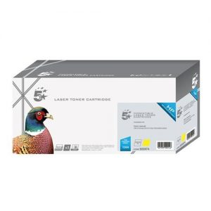 5 Star Office Remanufactured Laser Toner Cartridge 2000pp Yellow [HP No. 124A Q6002A Alternative] | 925974