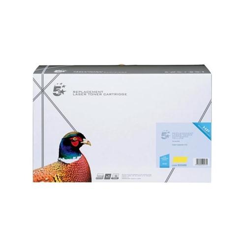 5 Star Office Remanufactured Laser Toner Cartridge 10000pp Yellow [HP No. 643A Q5952A Alternative] | 925990